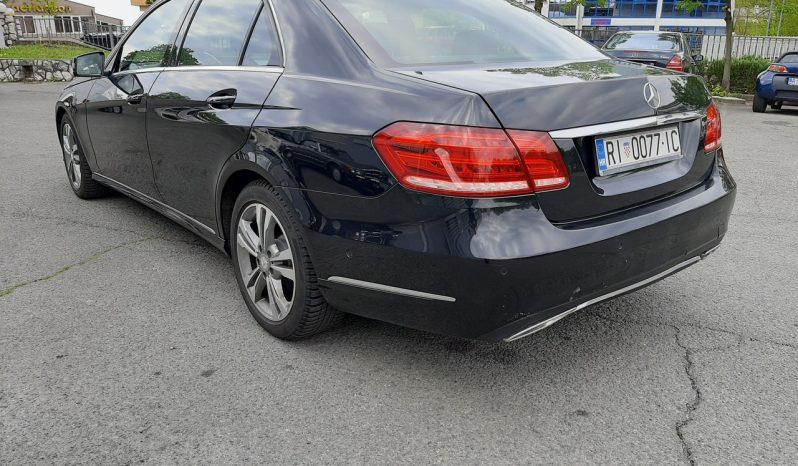Mercedes-Benz E 220 CDI full